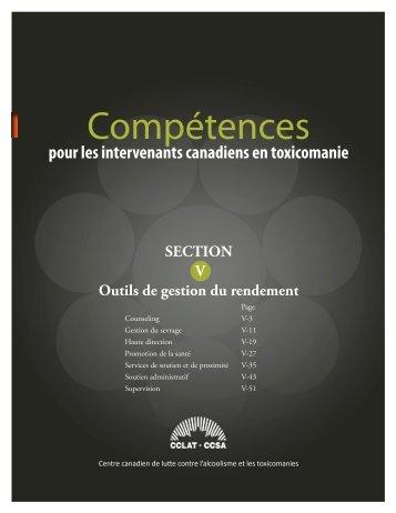 Outils de gestion du rendement - Canadian Centre on Substance ...