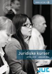 JUC kurser for advokater og jurister 2-2015