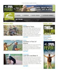 Issue 269 - April 23, 2013 - Outdoor Channel