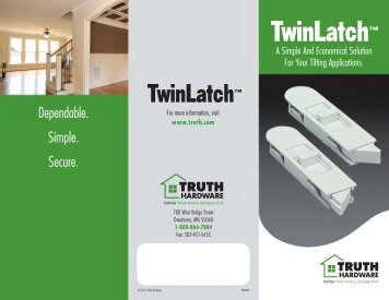 Dependable. Simple. Secure. - Truth Hardware