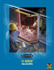 Banner EZ-SCREEN Brochure PN73111 - Banner Engineering