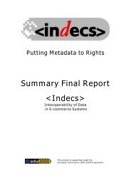 Indecs - DOIs
