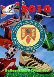 2010 Edition - County Londonderry Football Association