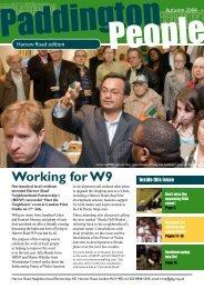 Working for W9 - Paddington Development Trust