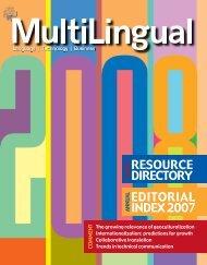 01 Resource Directory RD08 - B.indd - MultiLingual Computing, Inc.