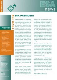ESA Newsletter - October 2008 - The Endocrine Society of Australia
