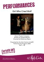 EDUCATION KIT: Girl Who Cried Wolf - AustralianPlays.org