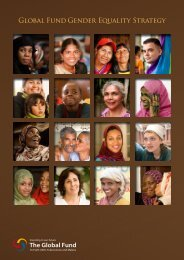 Global Fund Gender Equality Strategy
