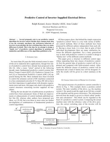 thesis on power electronics and drives The period of this thesis brought me valuable new experiences in both a scientific   used topologies in dc-dc converters in low-power electronics are:  dustrial  applications (spacecraft power systems, dc motor drives,.