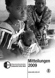 Mitteilungen 2009 - Solidarität Dritte Welt