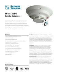 Photoelectric Smoke Detectors - Bass United - Fire and Security ...