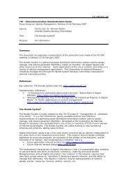FG IdM DOC ## ITU - Telecommunication Standardization ... - DOIs