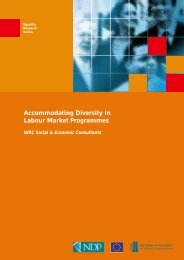 Accommodating Diversity in Labour Market ... - Equality Authority