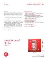 FX85001-0305 -- Weatherproof Strobes