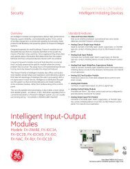 Data Sheet FX85001-0611 -- Intelligent Input-Output Modules