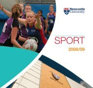The Centre for Physical Recreation & Sport - Newcastle University