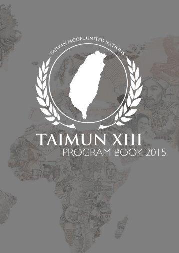 TAIMUN XIII Flipbook