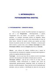 1. INTRODUÇÃO À FOTOGRAMETRIA DIGITAL - FTP