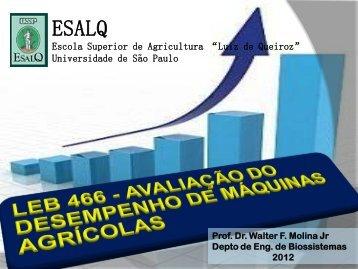 ensaio - LEB/ESALQ/USP