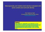 Macroporosity and relative bulk density ... - LEB/ESALQ/USP