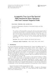 Asymptotics Near ±m of the Spectral Shift Function for Dirac ...