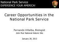 National Park Service Careers - UC Davis / Internship and Career ...