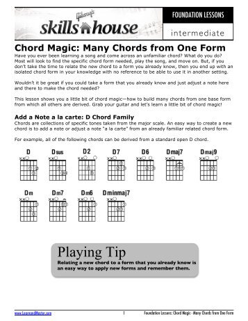 The Ultimate Jazz Chord - Gibson