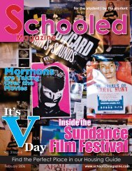 Sundance Film Festival - Schooled Magazine