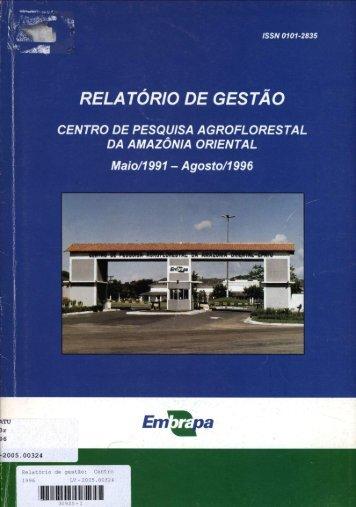 1 - Infoteca-e - Embrapa