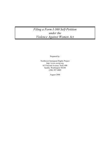 Revised Filing Instructions for Form I-130, Petition for Alien ...