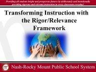 K-L - Nash-Rocky Mount Schools
