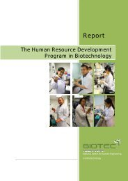 Report - National Center for Genetic Engineering and Biotechnology
