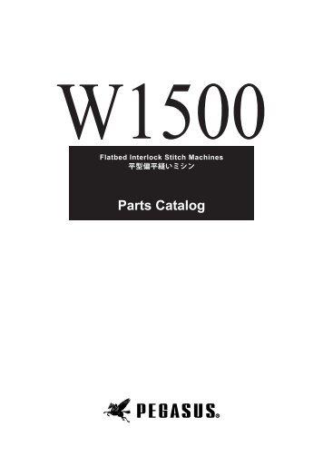 Parts Catalog - Pegasus Sewing Machine