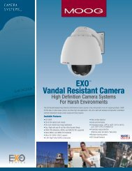EXO™ Vandal Resistant Camera - Videolarm