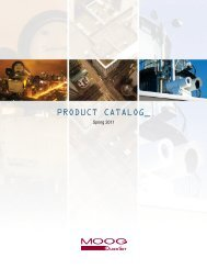 product catalog - Moog Quickset