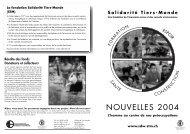 Nouvelles 2004