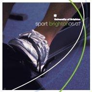 sport brighton06/07 - Staffcentral - University of Brighton
