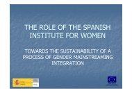 Spain by Maria Jose Rosco, Women's Institute - The European ...