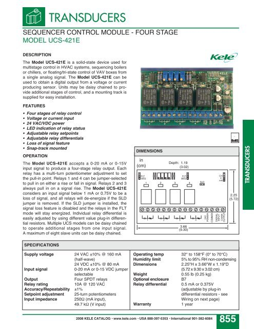 TRANSDUCERS SEQUENCER CON on