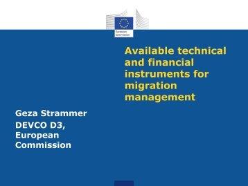European Commission Presentation - Rabat process
