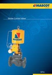 GFlo Globe Control Valve - Mascot-valves, globe valve, v-notch ...