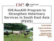 (PSVS) - OIE Asia-Pacific