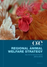 REGIONAL ANIMAL WELFARE STRATEGY - OIE Asia-Pacific