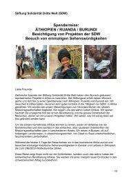 Stiftung Solidarität Dritte Welt (SDW)