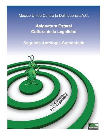 Asignatura Estatal Cultura de la Legalidad Segunda Antología Comentada.pdf