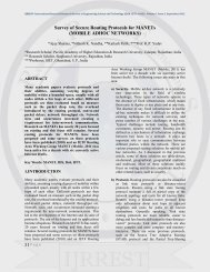MOBILE ADHOC NETWORKS - IJRREST, International Journal of ...