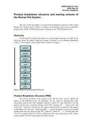 Detector System General Naming Scheme