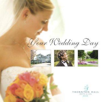 Your Wedding Day - Thornton Hall Hotel & Spa