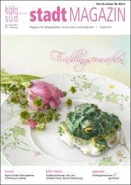 stadtMAGAZIN köln-süd | Ausgabe April/Mai 2015