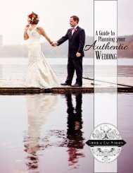 Topher & Rae Studios | A Guide to Planning Your Authentic Wedding, 2015